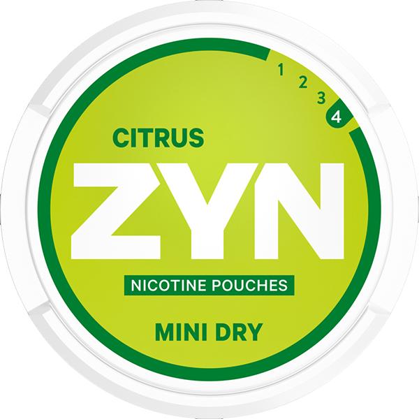 Zyn Citrus Mini Dry